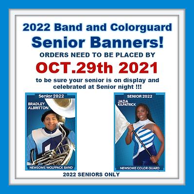 2022 Senior Banners
