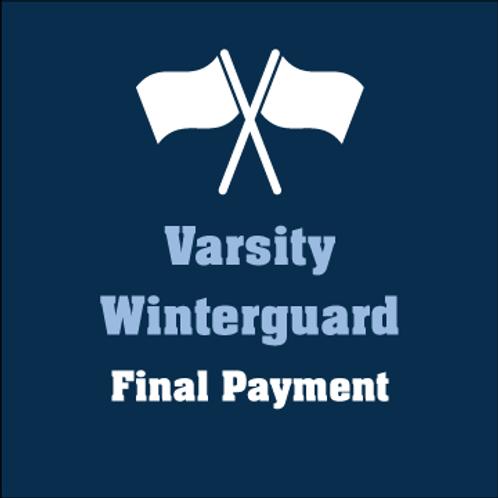 Varsity Winterguard Final Payment