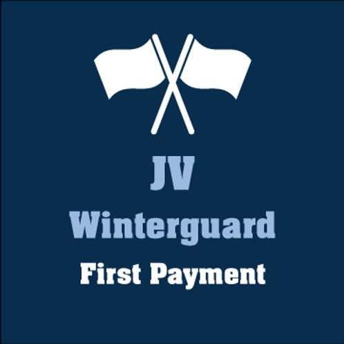 JV Winterguard 1st Payment