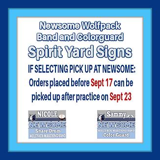 Spirit Yard Signs