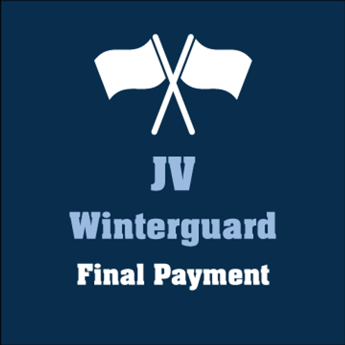 JV Winterguard Final Payment