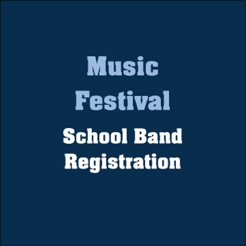 Music Festival Early Registration Fee