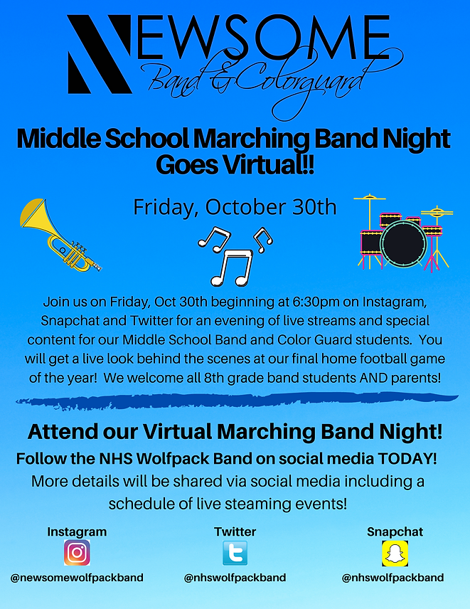 Virtual 8th Grade Marching Band Night.pn