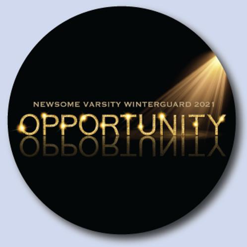 Varsity Winterguard Show Magnet