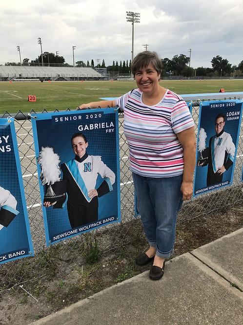 Senior Field Banner -- Class of 2021