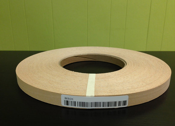 "STEAMED BEECH EDGEBANDING NONGLUED (1 1/4"" TO 2"")"