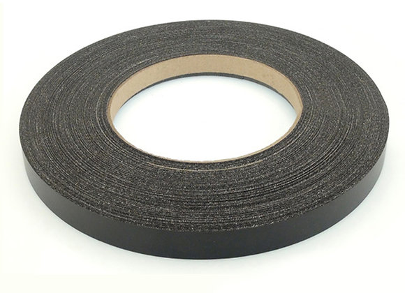 "BLACK MELAMINE EDGEBANDING PREGLUED (3/4"" TO 2"")"