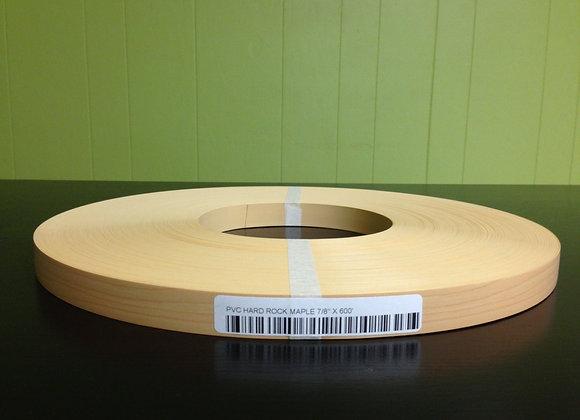 "HARD ROCK MAPLE PVC BANDING NONGLUED 7/8"" x 600'"