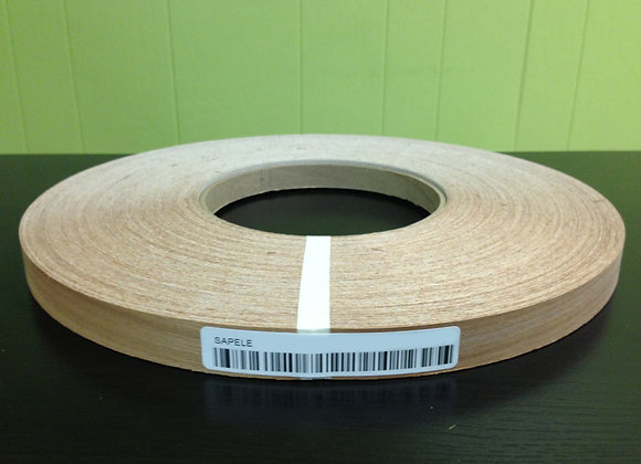 "SAPELE WOOD EDGEBANDING NONGLUED (5/8"" TO 1 1/8"")"