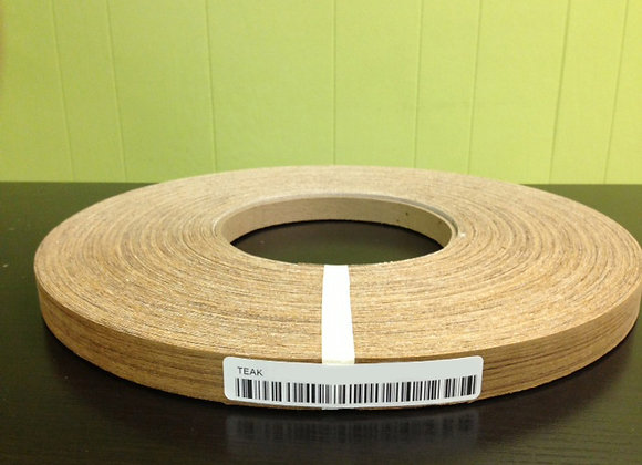 "TEAK WOOD EDGEBANDING PREGLUED (5/8"" TO 1 1/8"")"