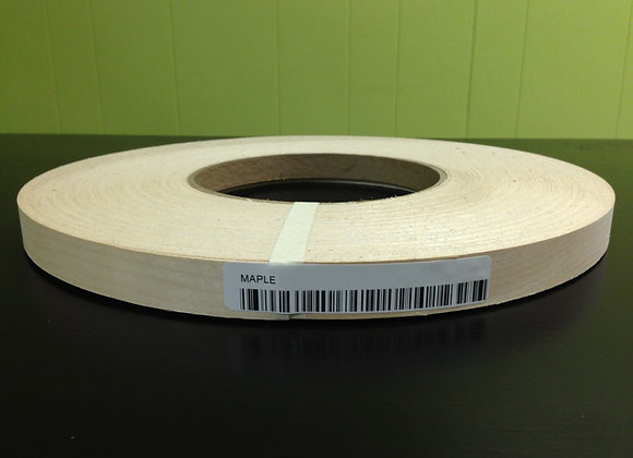 "MAPLE WOOD VENEER EDGEBANDING NON GLUED 8"" X 100'"