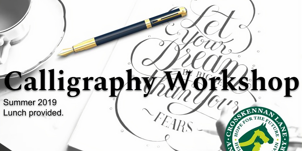 TBD Calligraphy Workshops