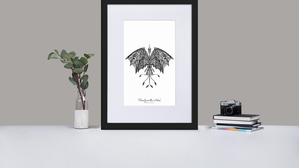 Rise From The Ashes Print