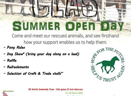 Summer Open Day 2016