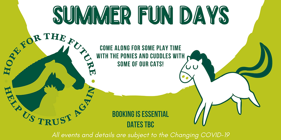 SOLD OUT! Summer Fun Day 15th August