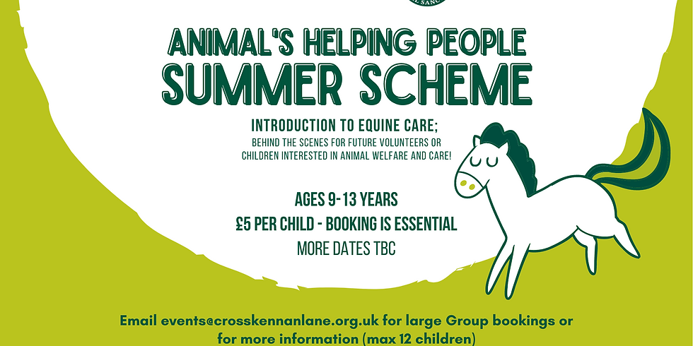 SOLD OUT! Summer Scheme (18th August)