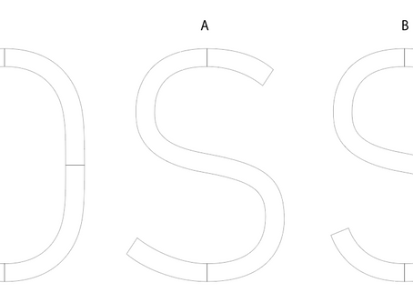 Sの形で悩む。