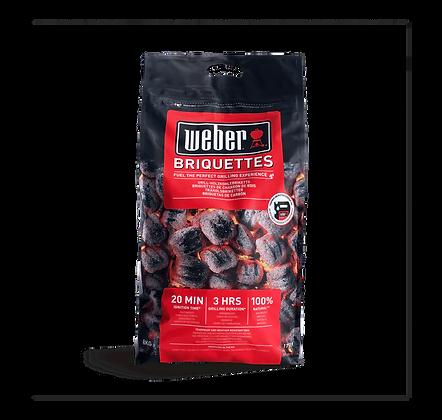 17591 Weber Bricchetti Briquettes 8kg