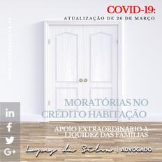 Covid-19: Moratória do crédito habitação