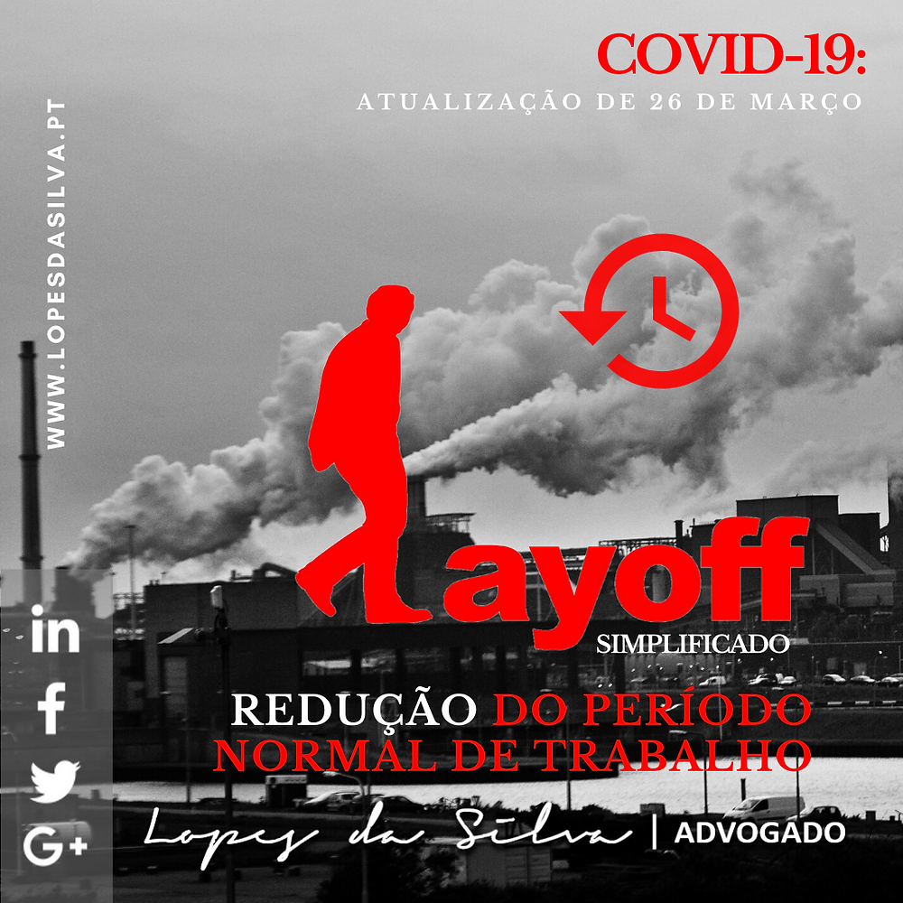 Lopes da Silva Advogado, Insolvência e Revitalização, Insolvência Pessoal, Insolvência Empresa, PER, Layoff, Lay-off simplificado, covid-19
