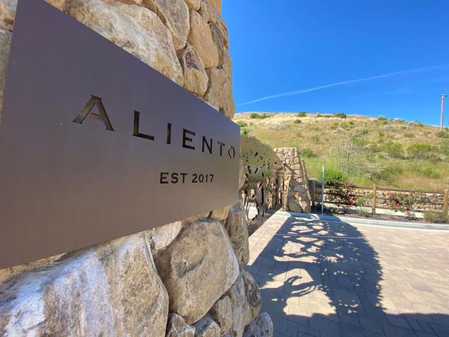 Aliento gate entrance