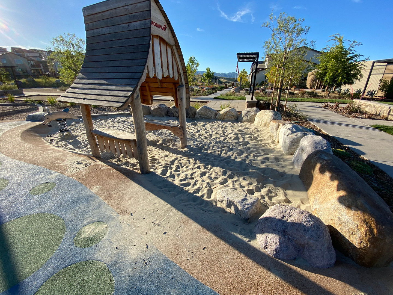 Playground boundaries