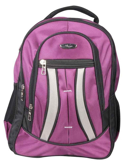 Verage Purple Polyester Croatia B710 Dual Tone Laptop Bagpack