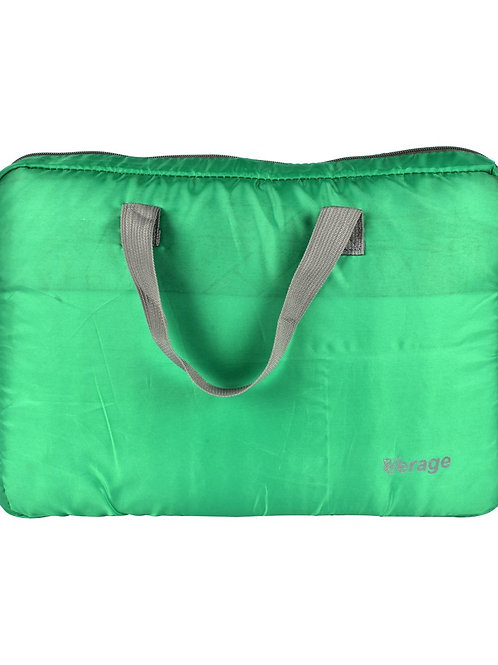 Verage Green Polyester Laptop Cover