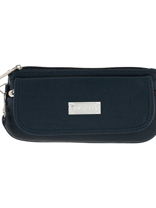 Vera Fristo Non Leather Black Wallet for Women