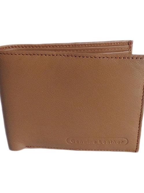 Verage Brown Formal Leather Wallet