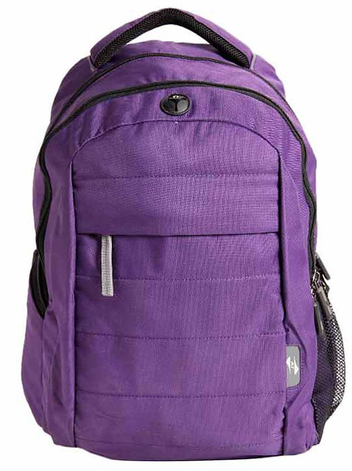 American Tourister Purple Nylon Backpack