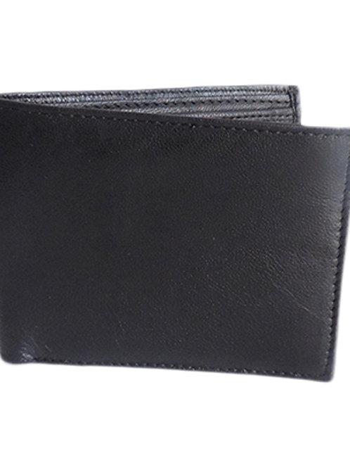 Verage Black Formal Leather Wallet