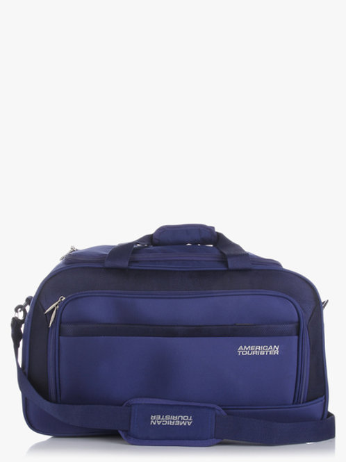 American Tourister52Cm Crete Duffle Ink Blue Non Wheel Duffle Bag