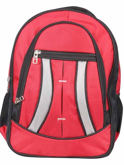 Verage Red Polyester Croatia B710 Dual Tone Laptop Bagpack