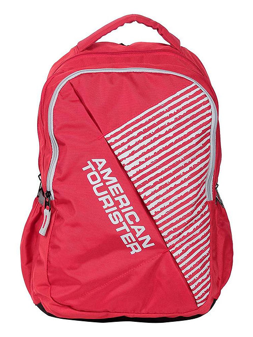 American Tourister Ebony Red Backpack