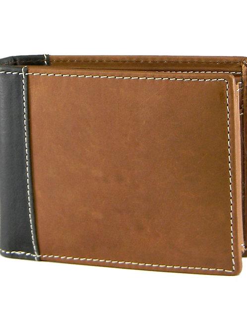 Verage Brown Leather Wallet