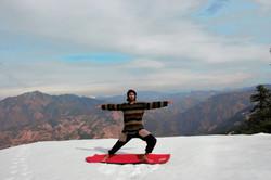 Parshva Konasana - Preparatory Pose