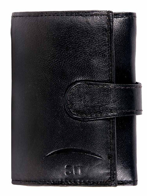 Paradiso Leather Tri-Fold Wallet For Women