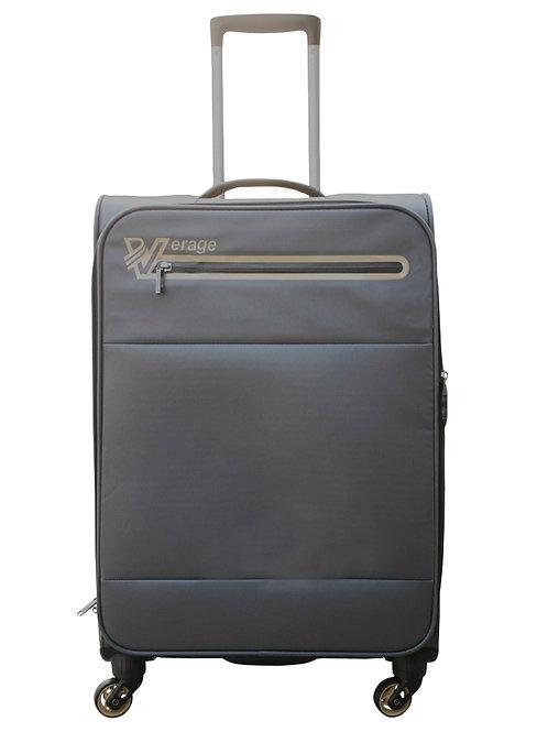 Verage Soft Luggage Gray 4 Wheel Trolley