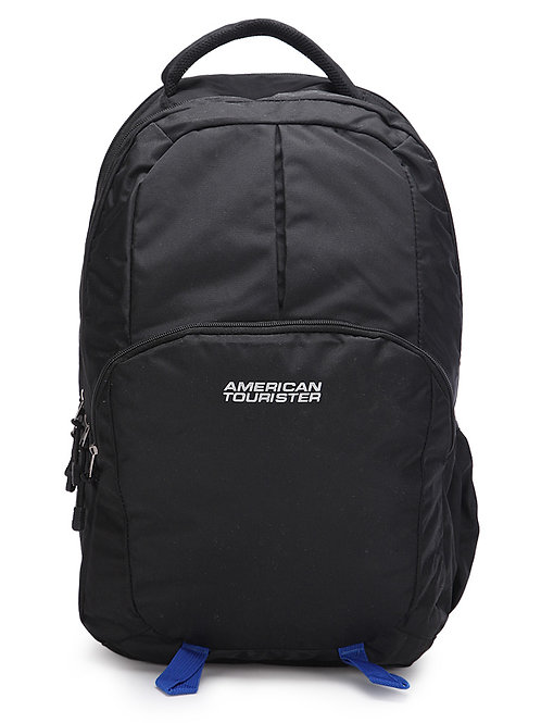 American Tourister Zing 2016 Black Polyester Laptop Backpack