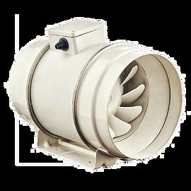 Канальные осевые вентиляторы смешанного типа