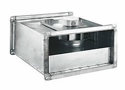 BDKFвентилятор для прямоугольных каналовc назад загнутыми лопатками