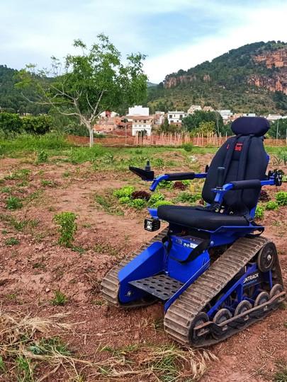 Ruta accesible en Olocau