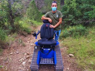La Sierra Calderona acoge una ruta accesible para personas con movilidad reducida