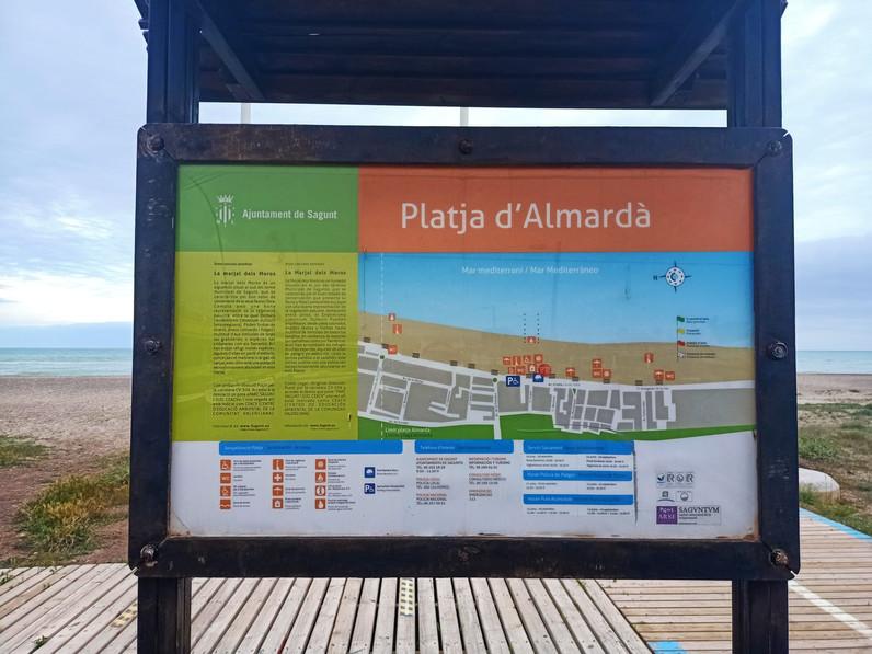 Información de la playa