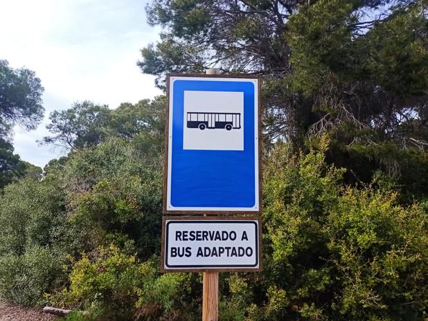 Servicio de autobús adaptado