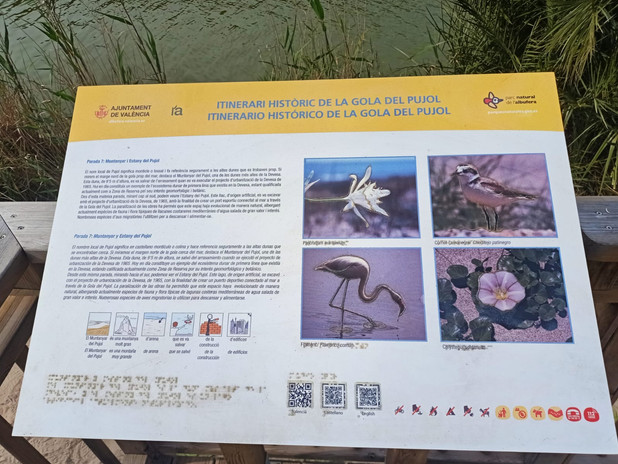 Placas informativas de biodiversidad