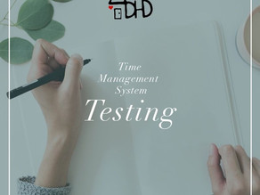 Time Management System- Testing