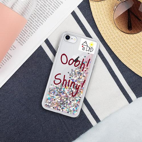 """Oooh! Shiny!"" Liquid Glitter Phone Case"