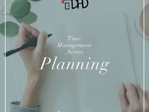 Time Management- Planning